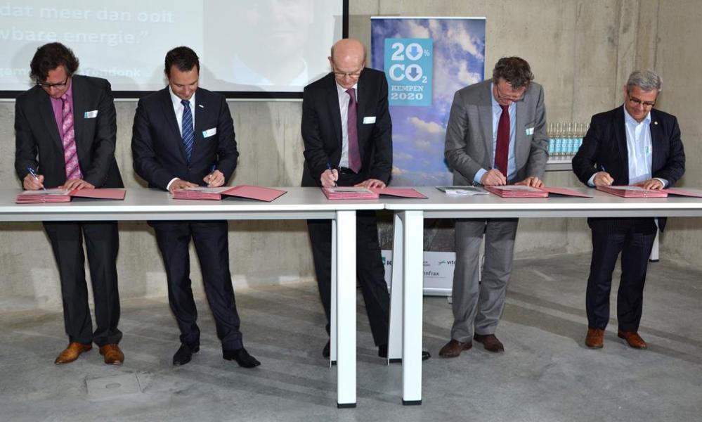 Herentals en Turnhout lanceren klimaatactieplannen